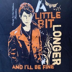 Gildan Tops - Nick Jonas T Shirt